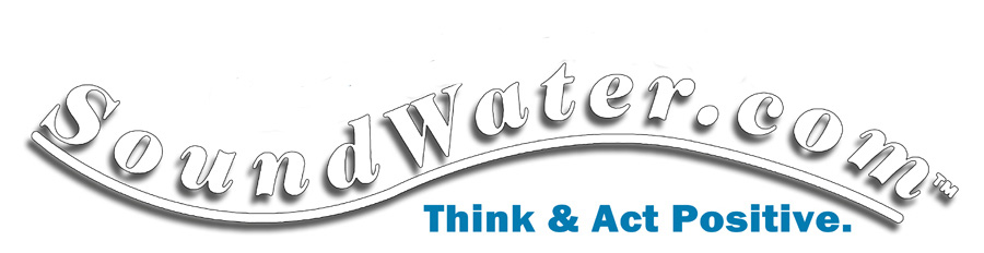 SoundWater.com logo Represents the improving of Human existence